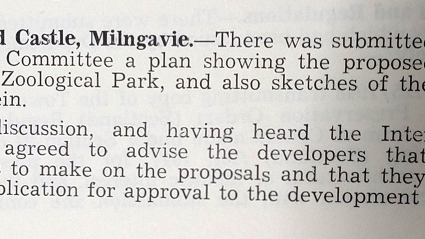 Stirling County Council Minutes, 18 10 1949