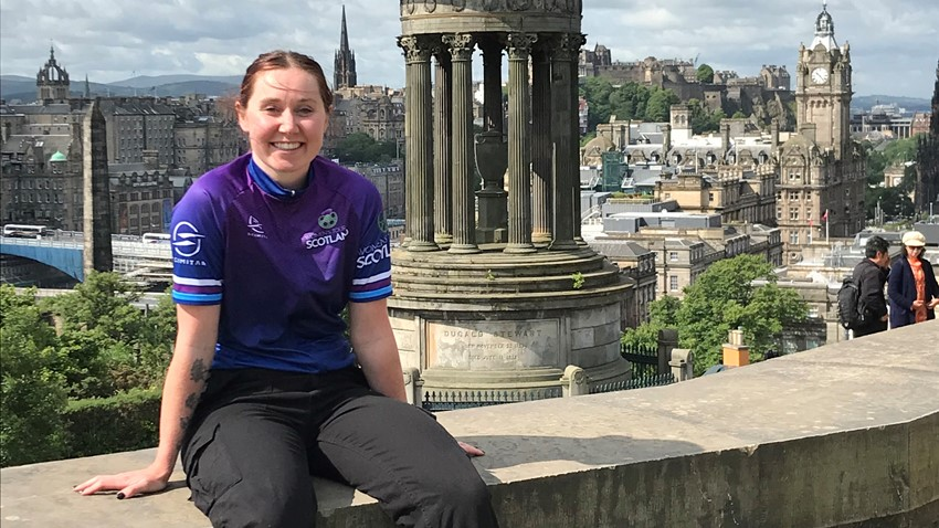 Scottish cycling star, Katie Archibald