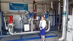 First Minister at Scottish Water Carbon Machine