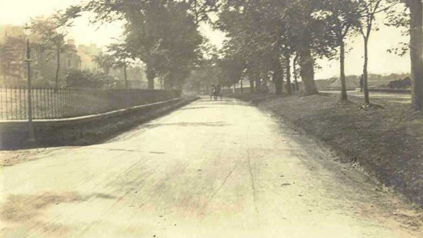 Image of Example of macadam at Kings Park Road