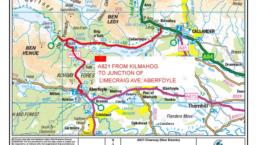 Image of Clearway Map