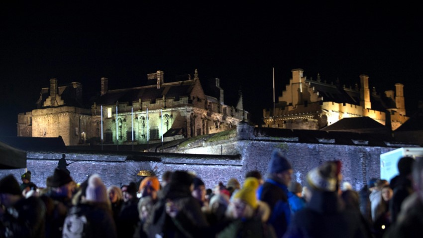 Image of Stirling Castle Hogmanay