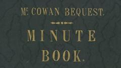 McCowan-Bequest-minute-book