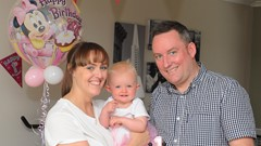 Claire, Skye and Barry Spence