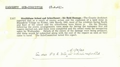 Circular concerning damage to Schools