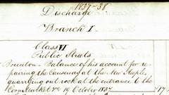 Corn Exchange works 19 October 1837