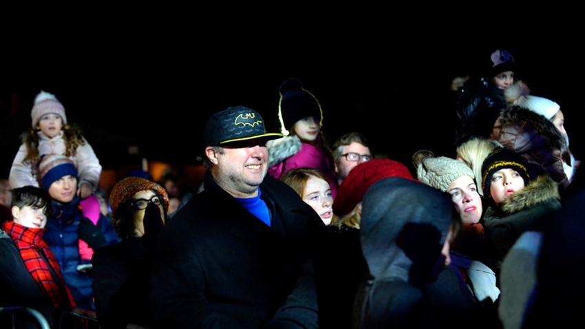 Image of Crowds, Stirling's Hogmanay