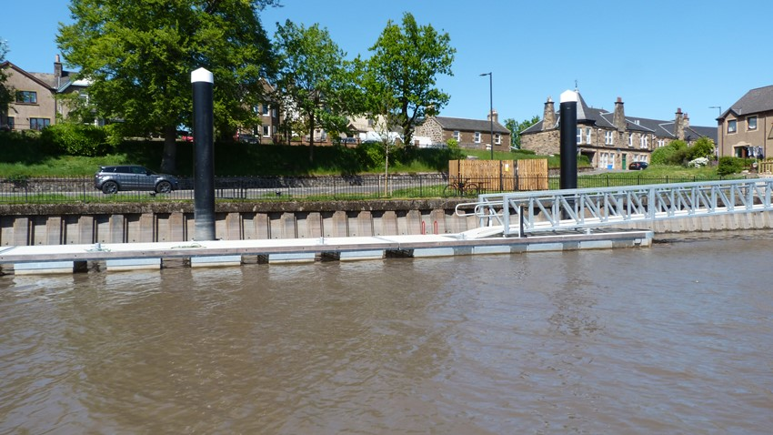 Riverside Pontoon