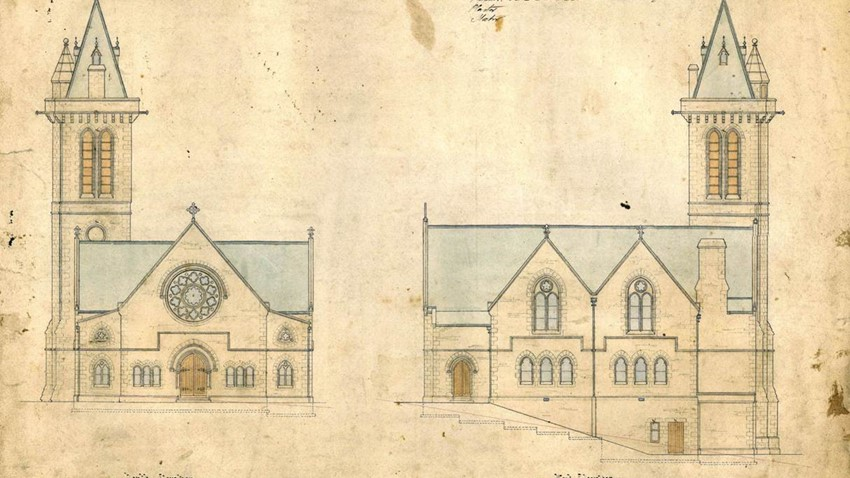 Image of Allan Park Church Elevations
