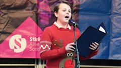 Boy Entertains, Alive with Scotland