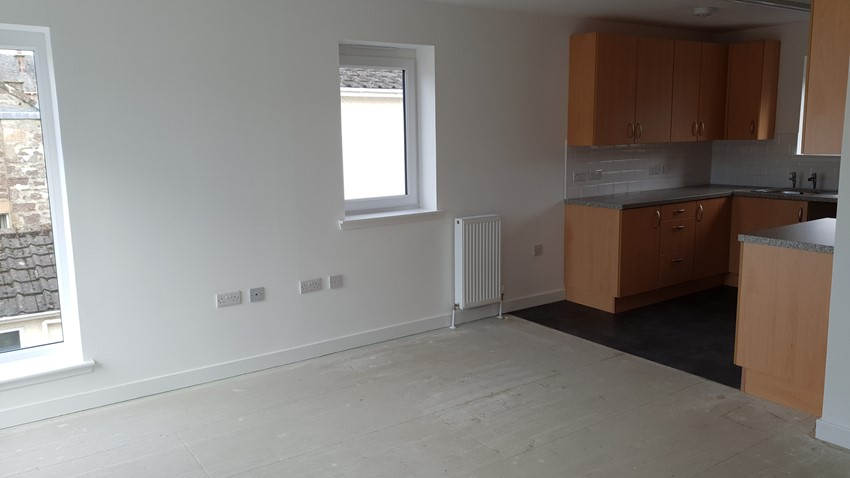 Image of Interior of New Housing Pearl Street Callander