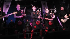 Pipe Band Stirling's Hogmanay