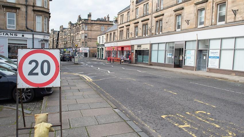 Image of Barnton St 2 COVID Traffic