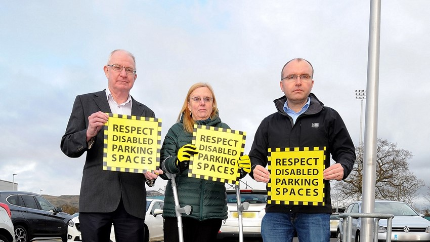 Image of Campaign against disabled parking