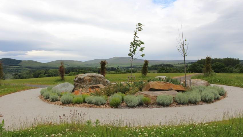 Image of Balvalachlan Cemetery Rock Garden