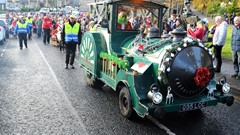 Santa Train and Procession