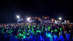 Stirling's Hogmanay Crowds