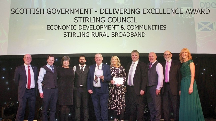 Image of Rural Broadband Award - COSLA