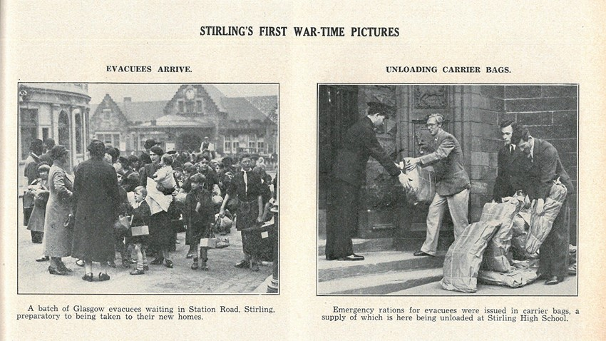 Image of Stirling's First War-Time Pictures