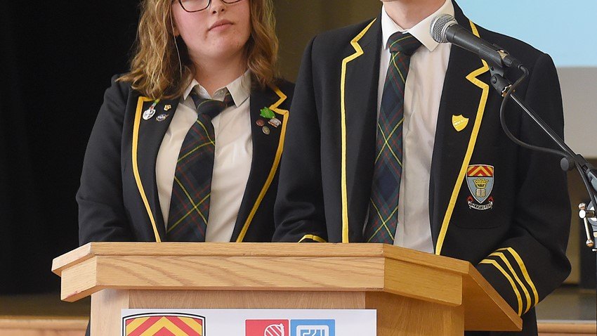 Stem Speech from McLaren High School Pupils