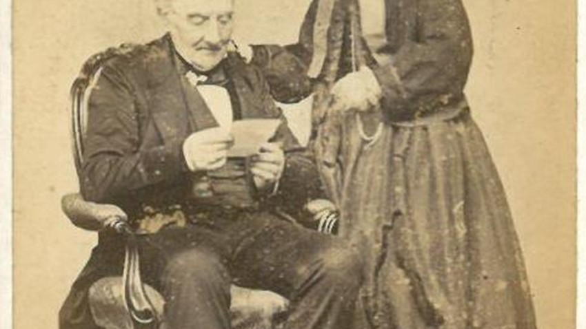 Image of Elderly couple