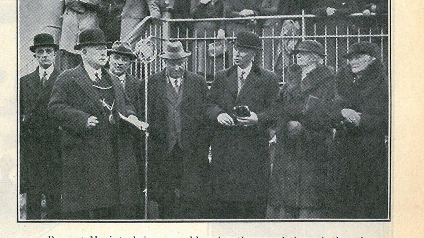 Image of Cambuskenneth Bridge Opening Stirling Observer 1935