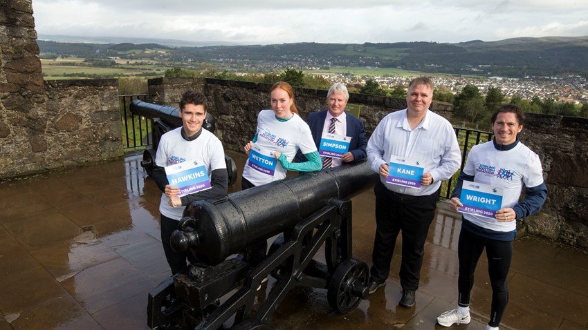 Image of The 2020 Stirling Scottish Marathon launch