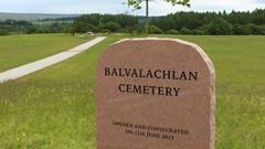 Balvalachlan Cemetery GraveStone