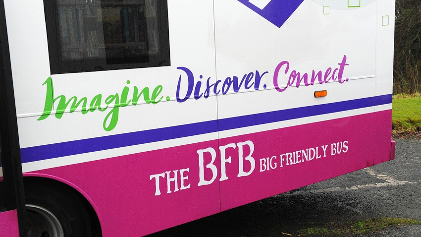 Image of Mobile Libraries naming competition winners