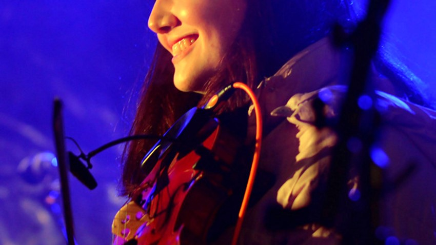 Image of Violinst at Stirling's Hogmanay Event