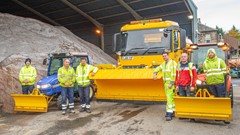 Stirling Council Winter Gritting Team