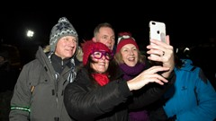 Crowds Celebrate Stirling's Hogmanay
