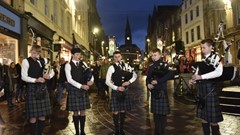 Halloween Parade Pipers