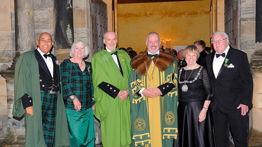 Image of The Guildry's 900th anniversary celebrations at Stirling Castle