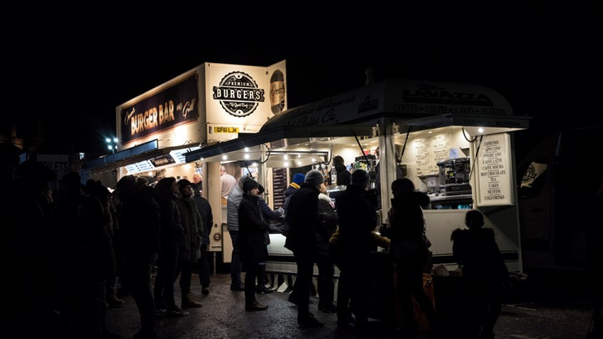 Image of Stirling's Hogmanay Celebrations Snack Bar