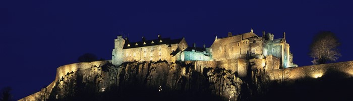 Stirling Castle at Night