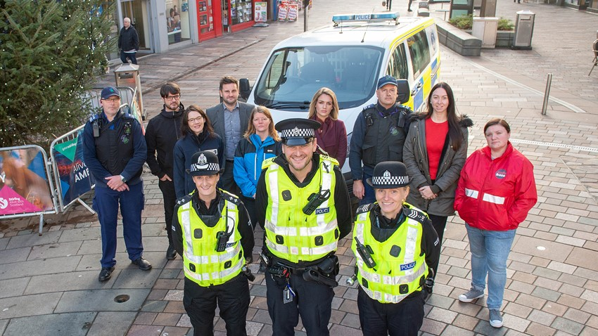 Image of Steadfast - Safer Community Team and Police Scotland
