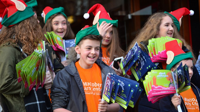 Image of MacRobert Art Centre, Santa's Elves