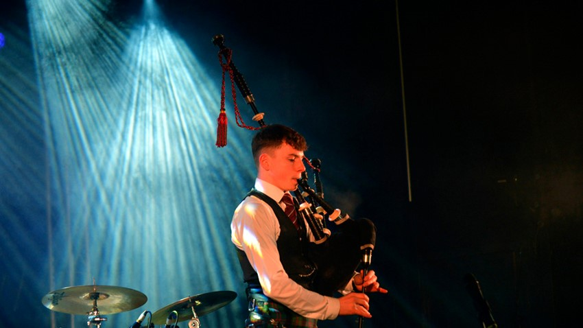 Image of Stirling's Hogmanay Event Piper