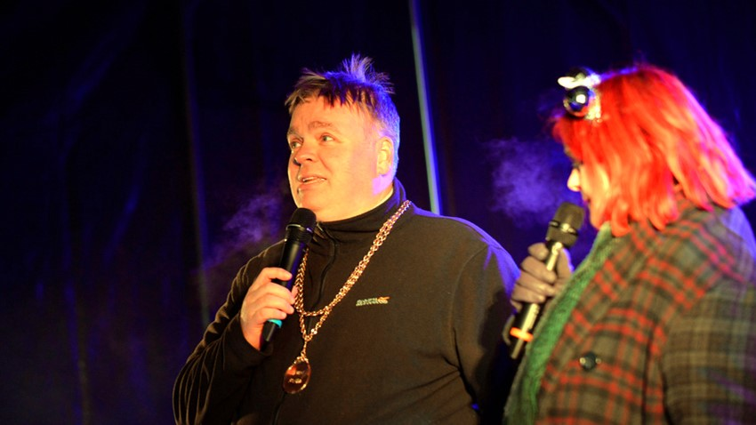 Image of Councillor's Stirling's Hogmanay Event