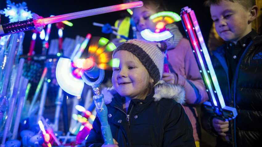 Image of Children Playing, Stirling's Hogmanay Event